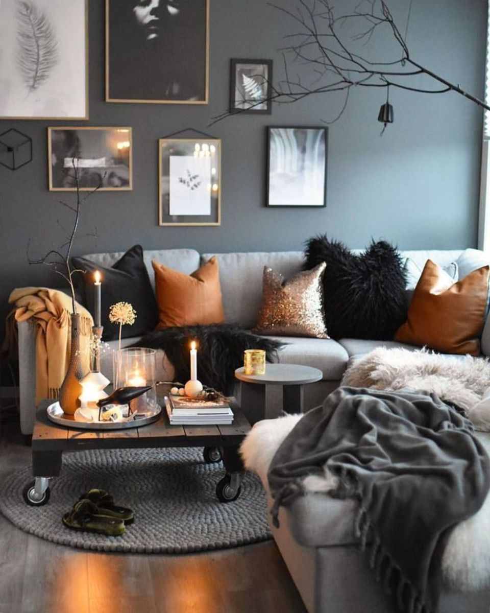 The Best Fall Living Room Decor Ideas Because Autumn Is Coming 02