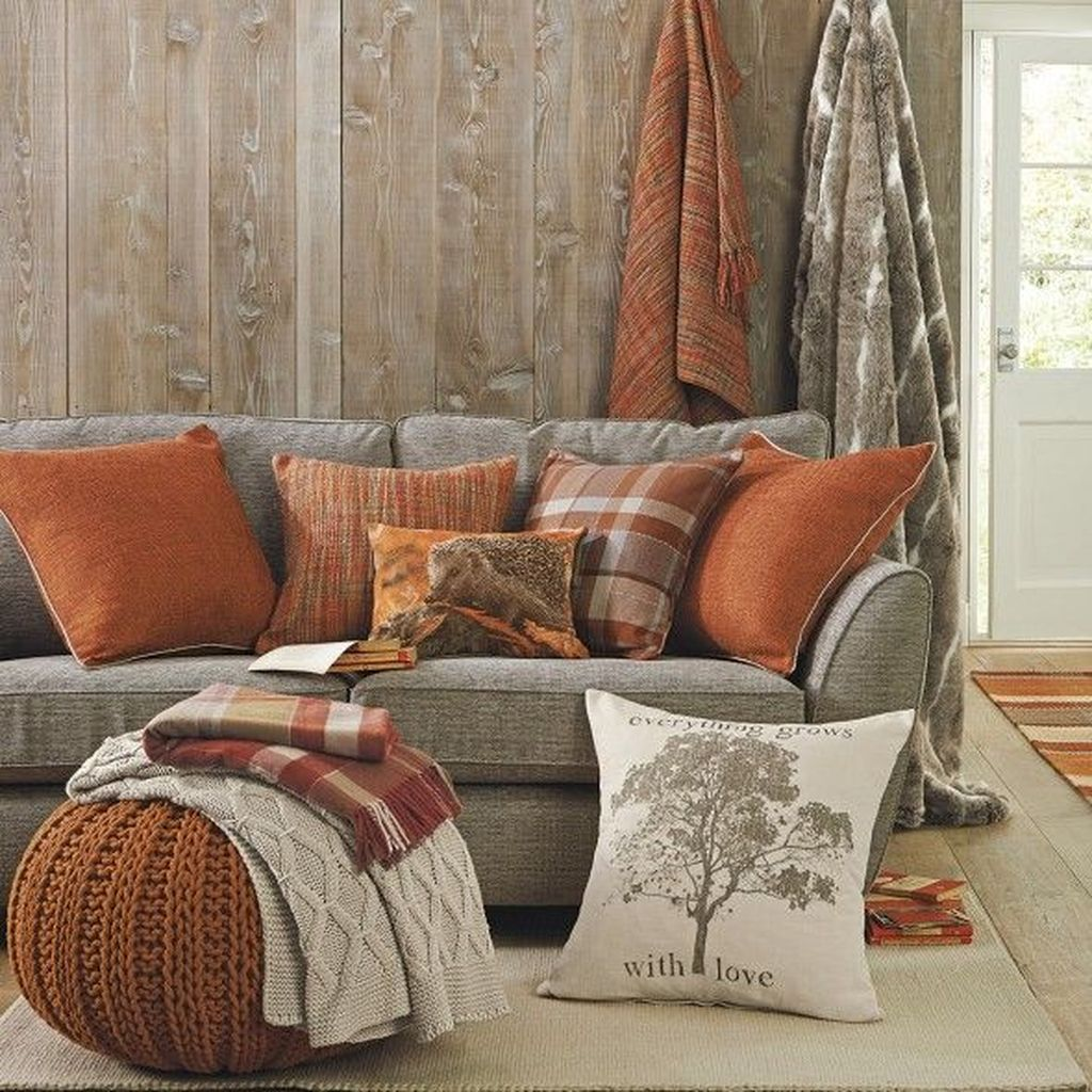 The Best Fall Living Room Decor Ideas Because Autumn Is Coming 07