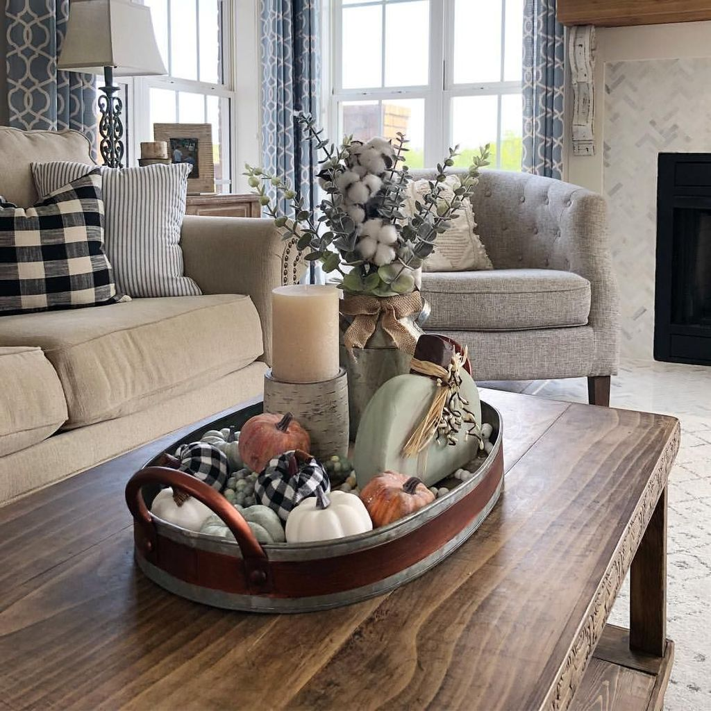 The Best Fall Living Room Decor Ideas Because Autumn Is Coming 27