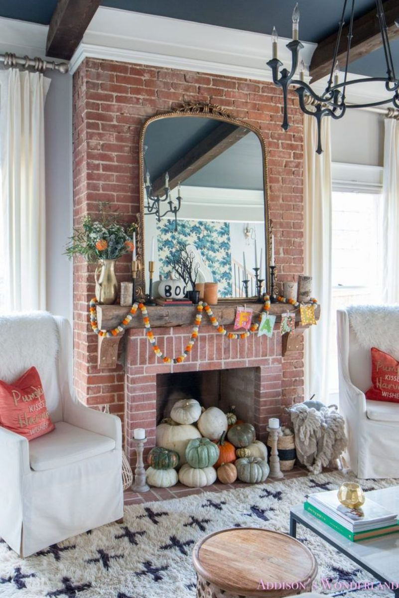 The Best Fall Living Room Decor Ideas Because Autumn Is Coming 28