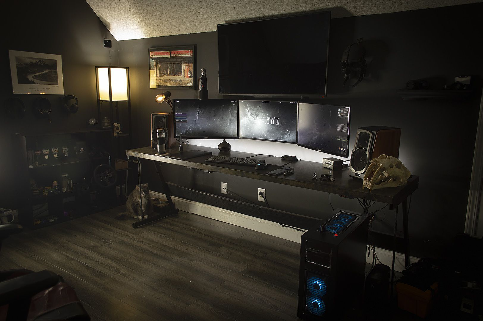 The Best Gaming Setup For Amazing Rooms 01