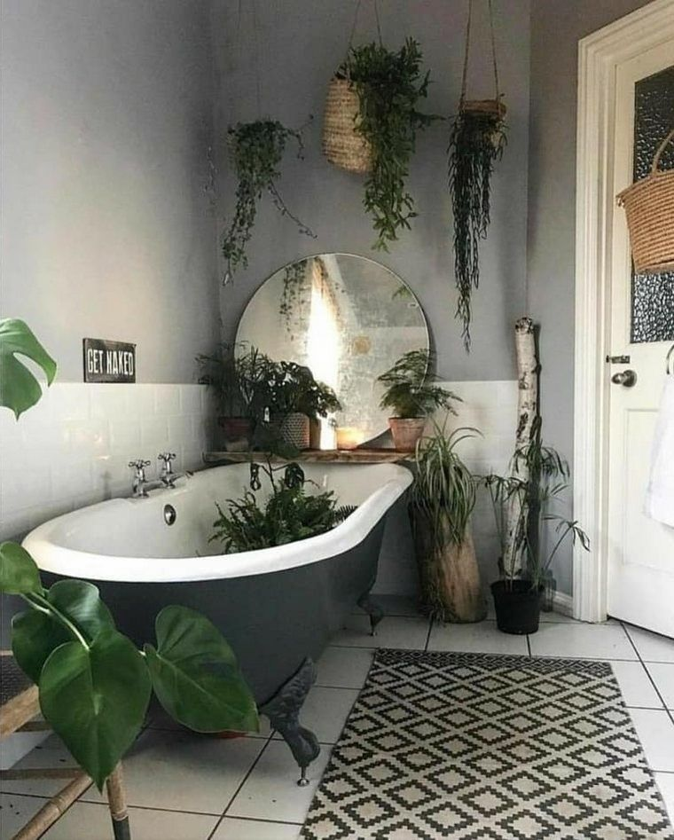 Amazing Bohemian Style Bathroom Decor Ideas 04
