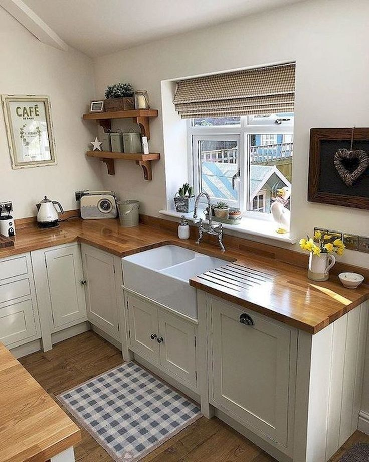 Awesome Cottage Kitchens Design Ideas 26