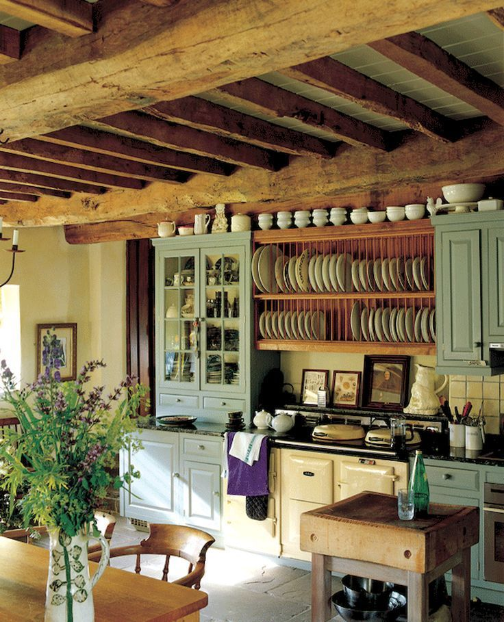 Awesome Cottage Kitchens Design Ideas 32