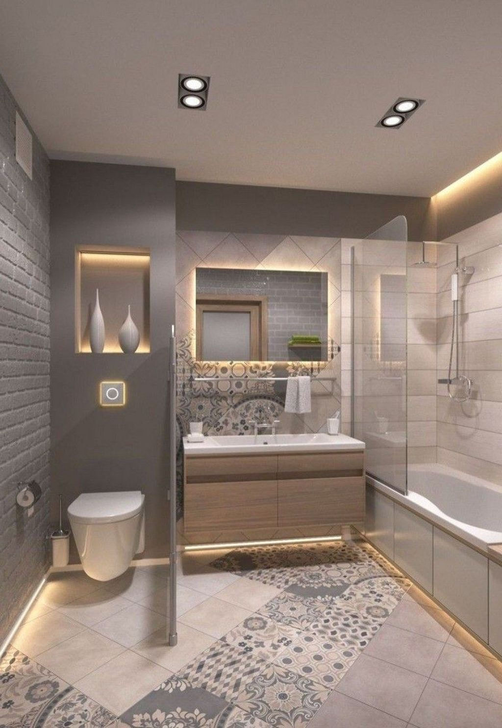 Awesome Small Bathroom Remodel Ideas On A Budget 18