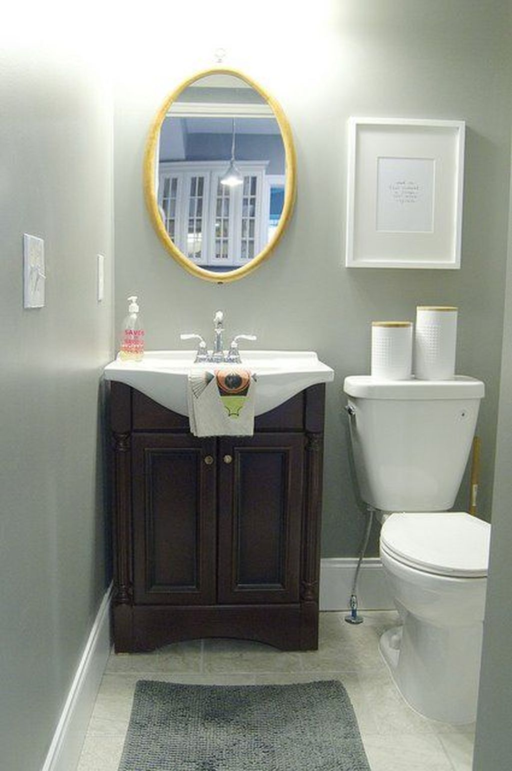Awesome Small Bathroom Remodel Ideas On A Budget 32