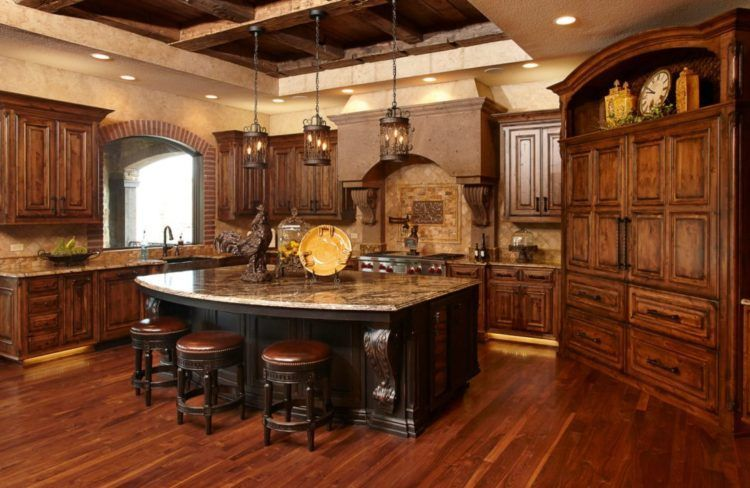 Awesome Tuscan Kitchen Decoration Ideas 06