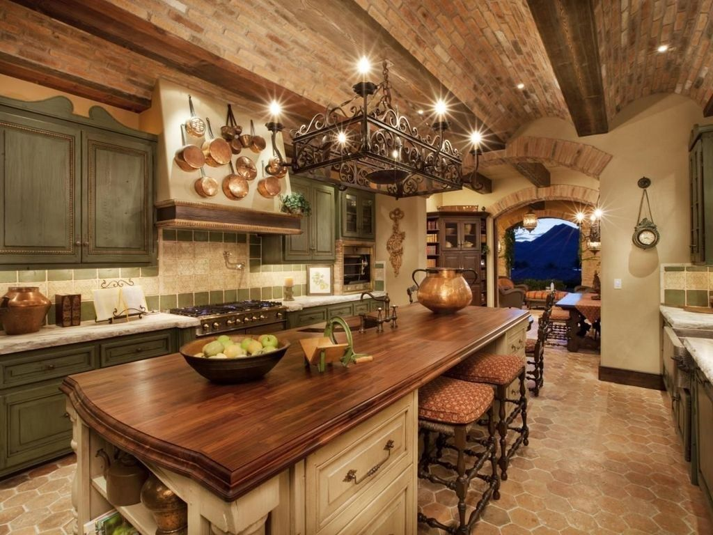 Awesome Tuscan Kitchen Decoration Ideas 14