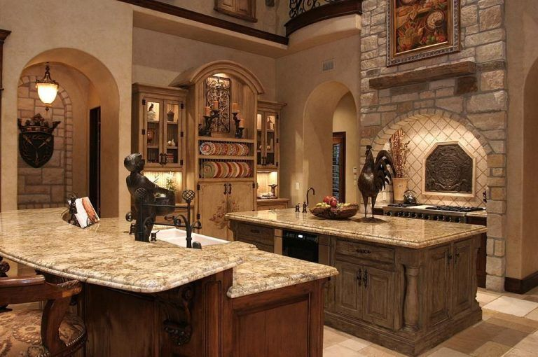 Awesome Tuscan Kitchen Decoration Ideas 15