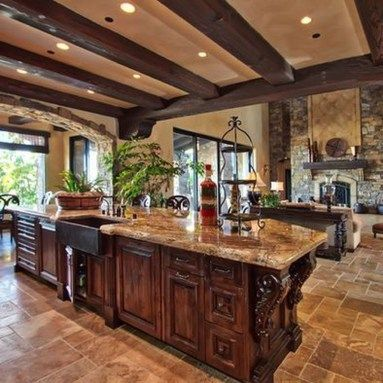 Awesome Tuscan Kitchen Decoration Ideas 24