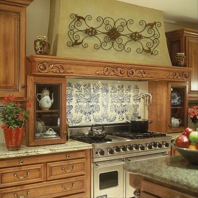 Awesome Tuscan Kitchen Decoration Ideas 29