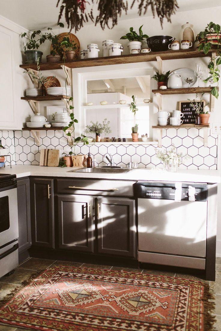 Beautiful Bohemian Style Kitchen Decoration Ideas 05