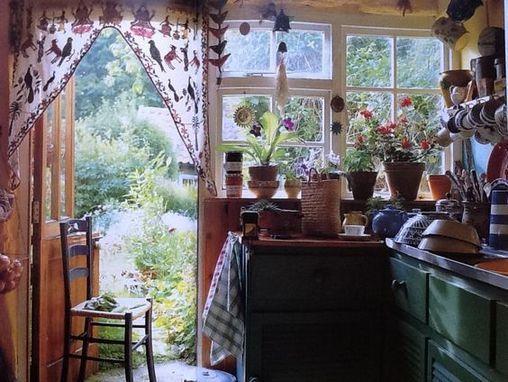 Beautiful Bohemian Style Kitchen Decoration Ideas 10