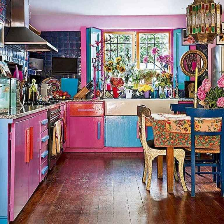 Beautiful Bohemian Style Kitchen Decoration Ideas 15