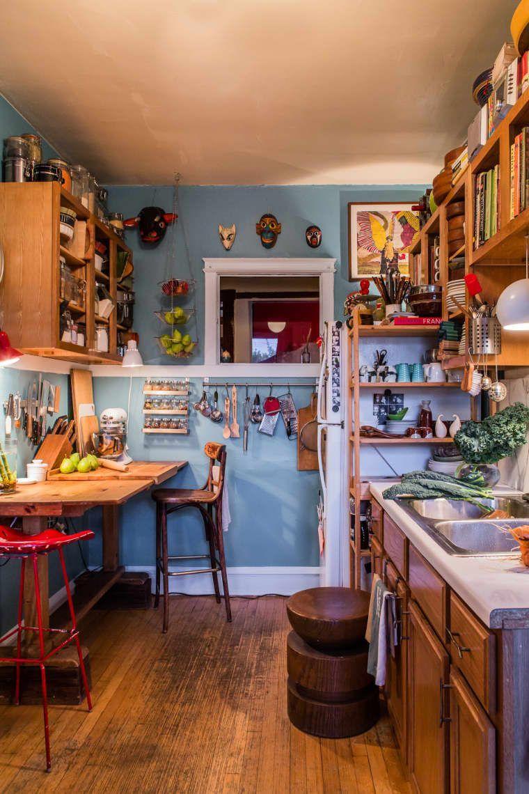 Beautiful Bohemian Style Kitchen Decoration Ideas 18