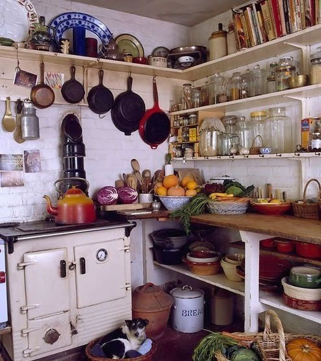 Beautiful Bohemian Style Kitchen Decoration Ideas 26