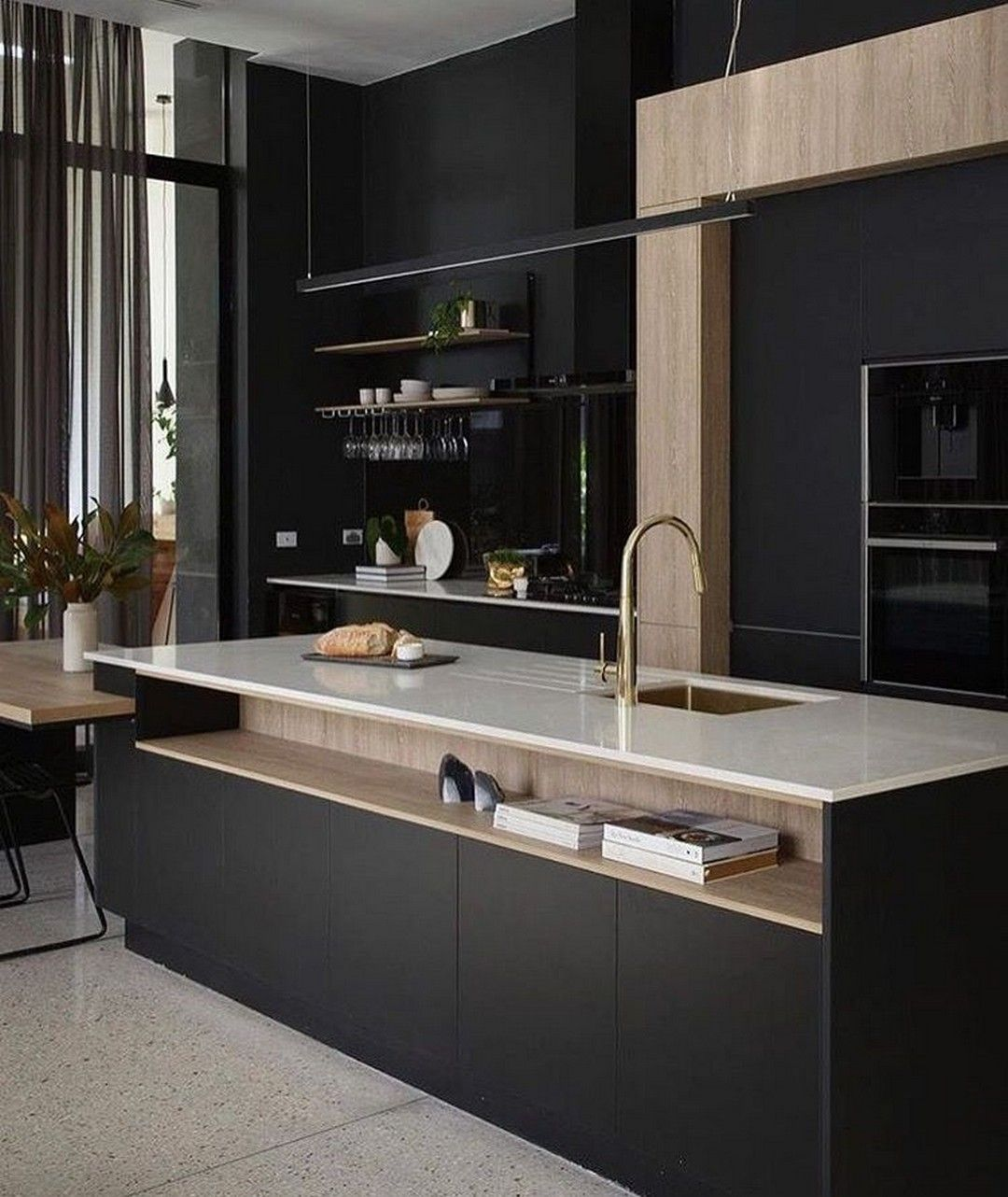 Beautiful Contemporary Kitchen Design Ideas 19