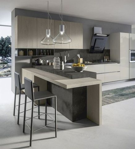 Beautiful Contemporary Kitchen Design Ideas 24