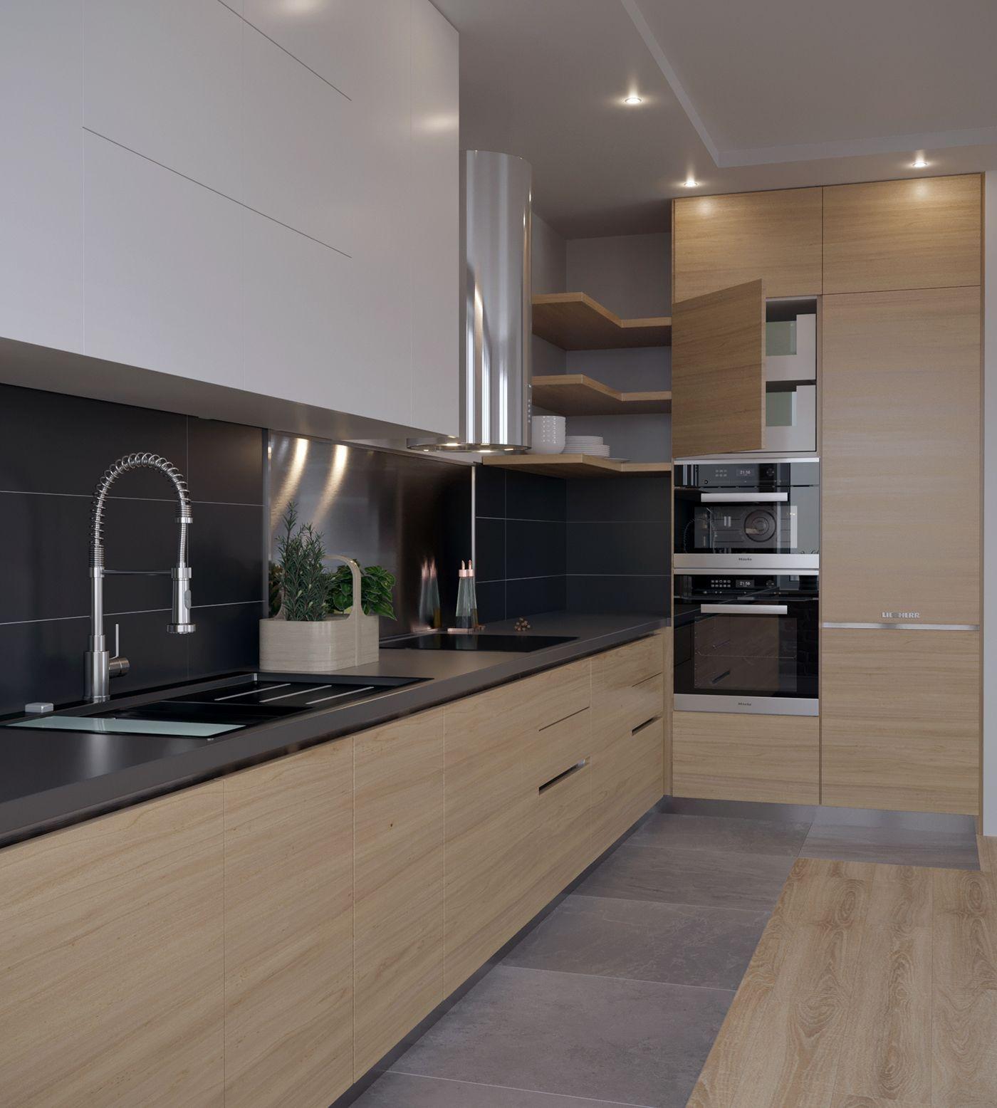 Beautiful Contemporary Kitchen Design Ideas 29