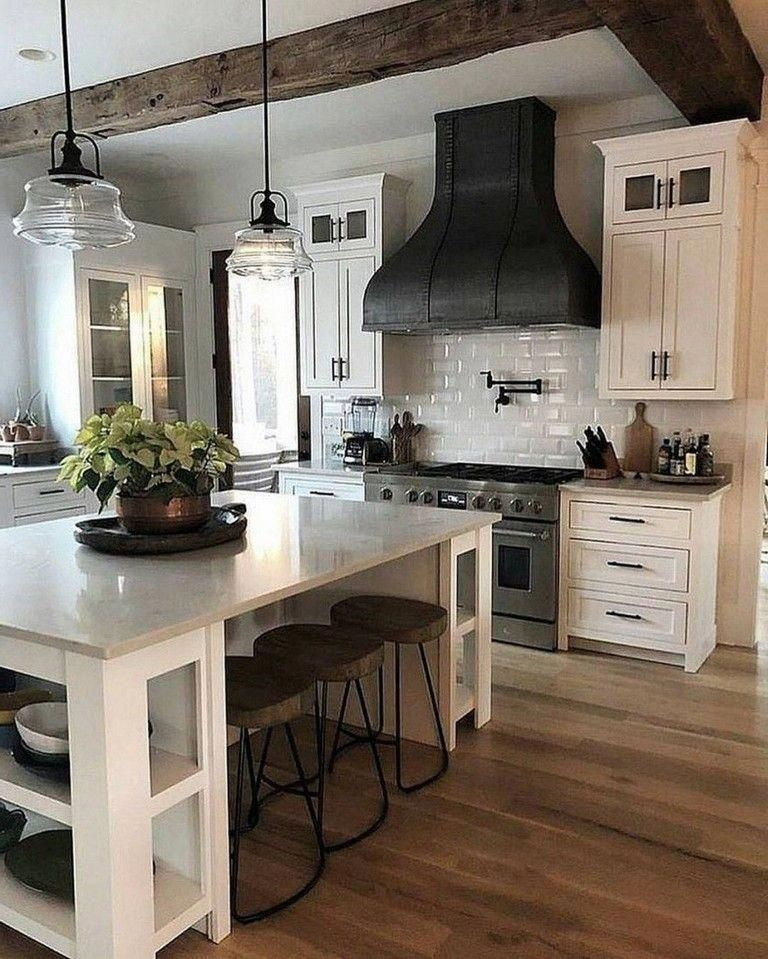 Beautiful Kitchen Island Design Ideas 24