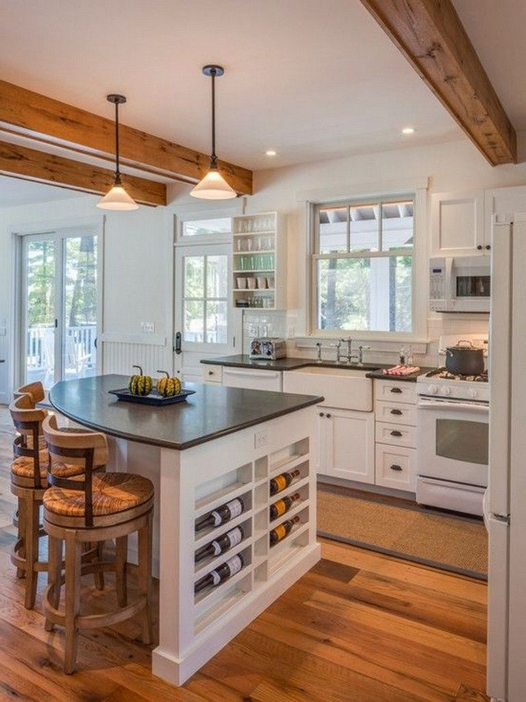 Beautiful Kitchen Island Design Ideas 34