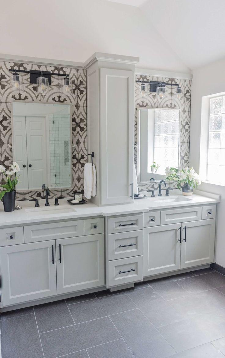 Fabulous Bathroom Cabinets Design Ideas 16