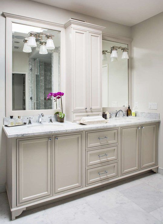Fabulous Bathroom Cabinets Design Ideas 19