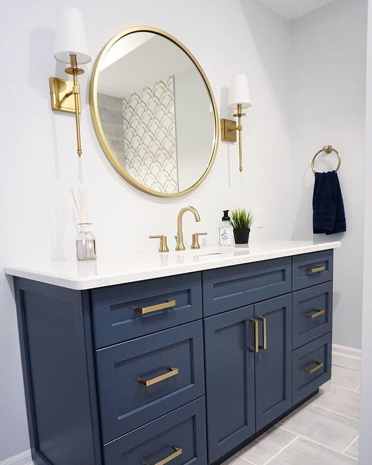 Fabulous Bathroom Cabinets Design Ideas 22