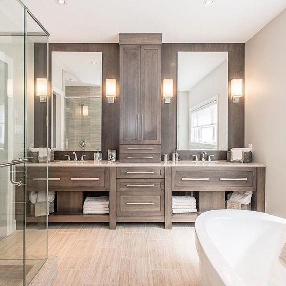Fabulous Bathroom Cabinets Design Ideas 23