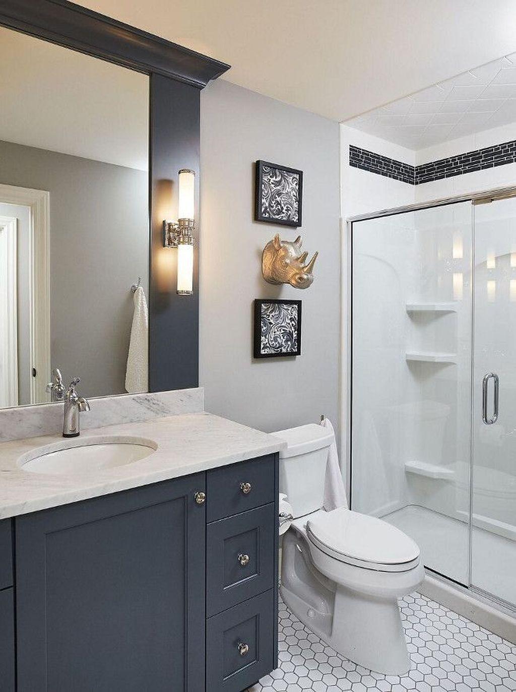 Fabulous Bathroom Cabinets Design Ideas 24