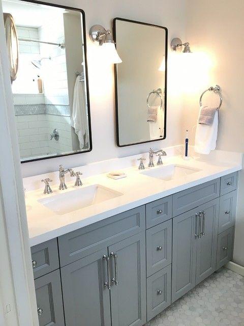 Fabulous Bathroom Cabinets Design Ideas 28