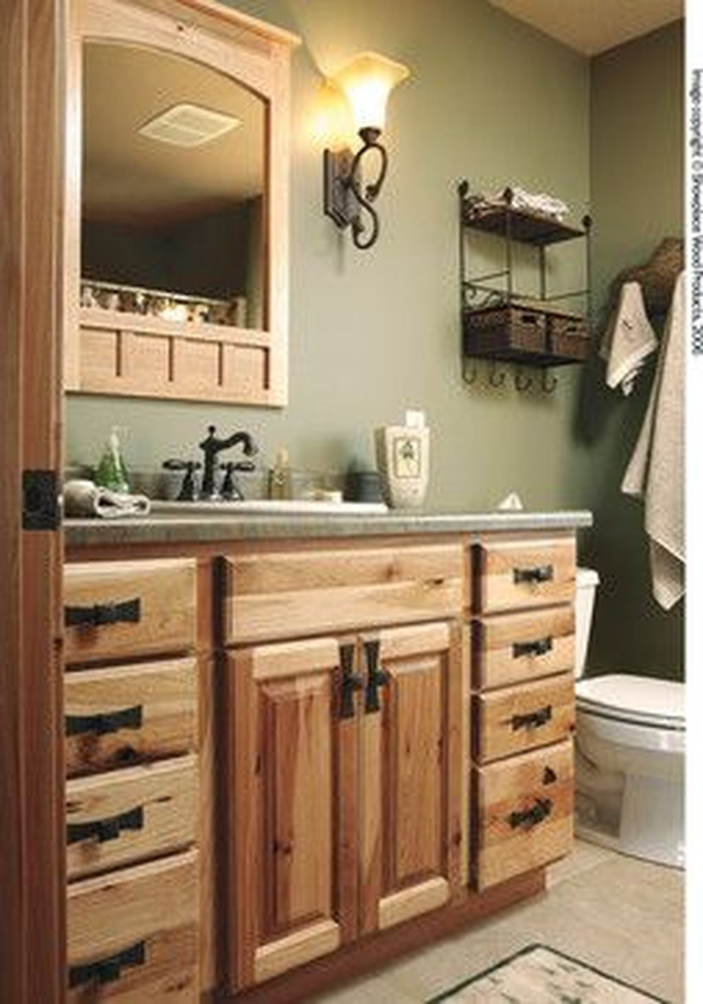 Fabulous Bathroom Cabinets Design Ideas 30 Copy