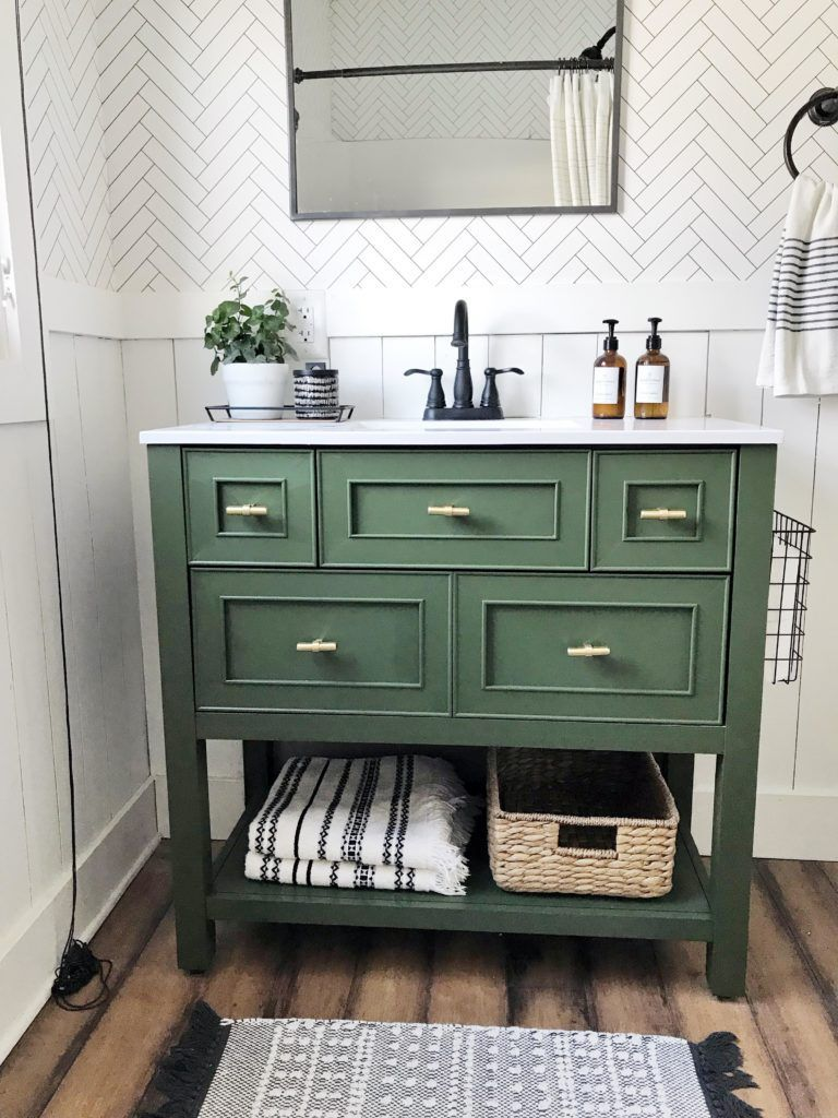 Fabulous Bathroom Cabinets Design Ideas 33