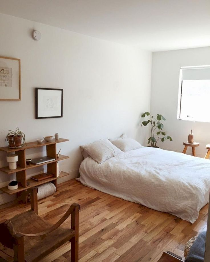 Gorgeous Minimalist Bedroom Decor Ideas 35