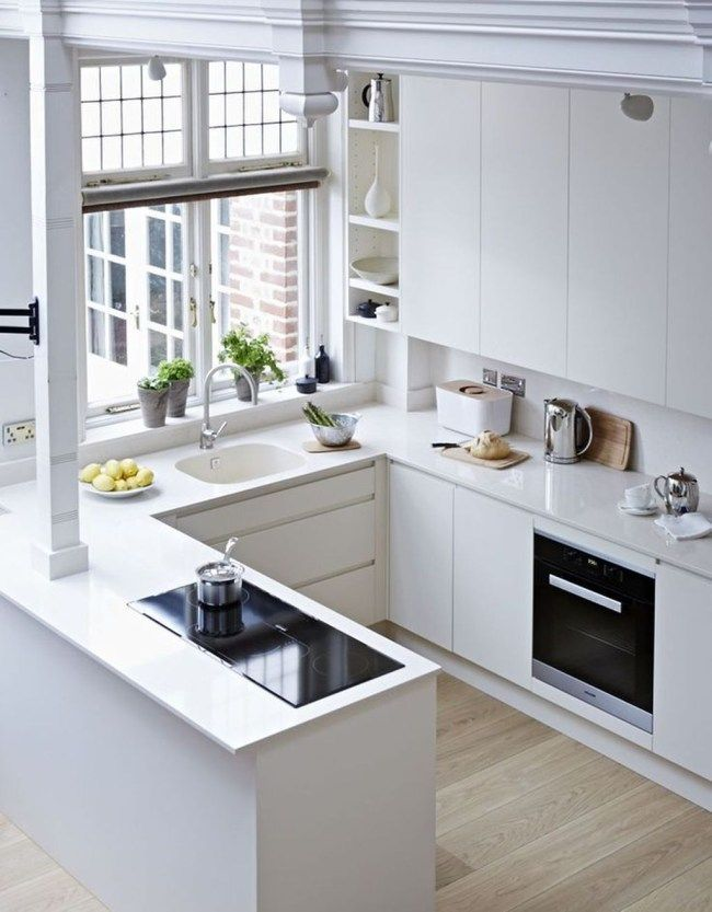 Inspiring White Kitchen Design Ideas With Luxury Accent 08