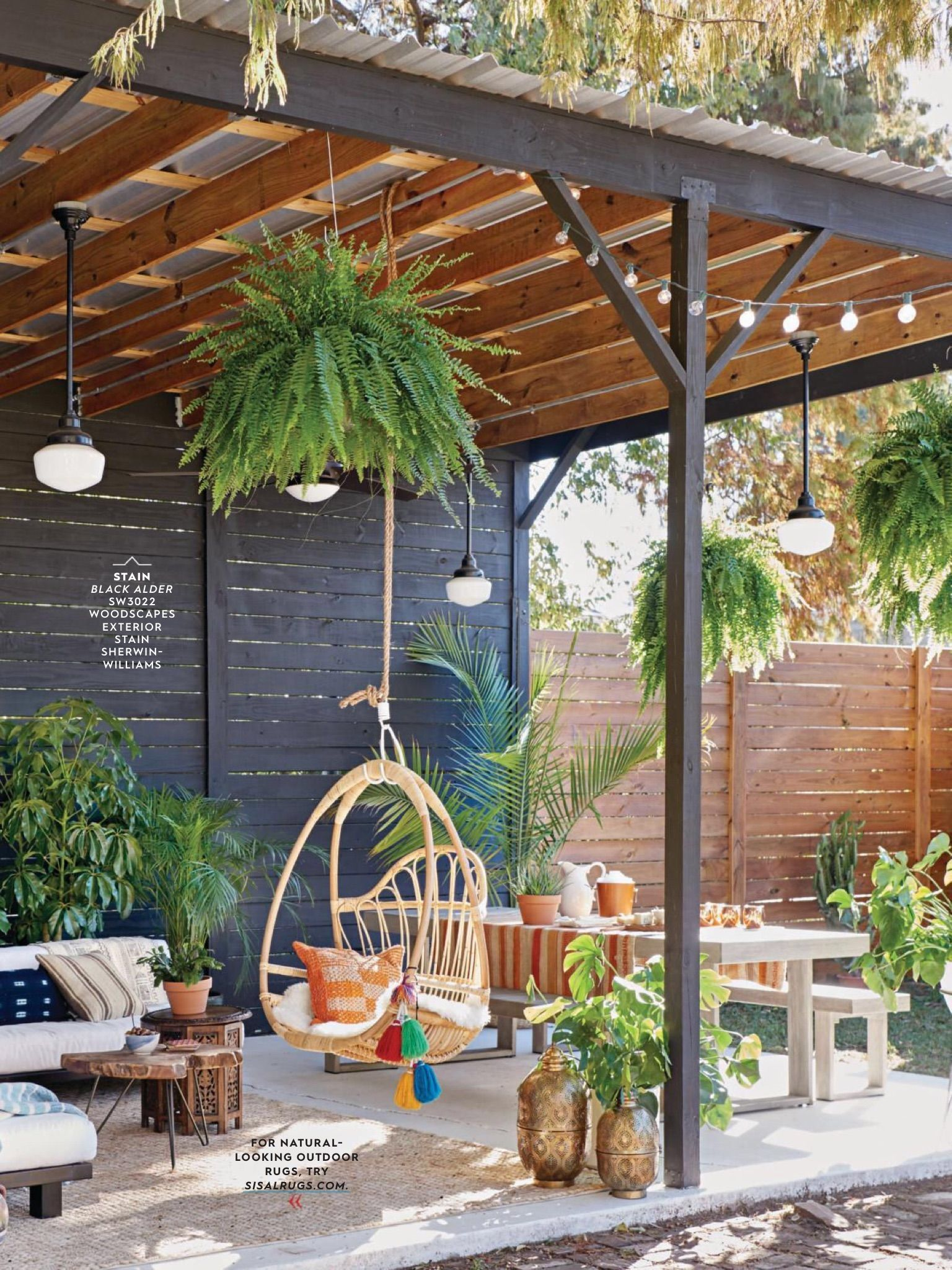 Lovely Bohemian Style Ideas For Your Outdoor Design 36