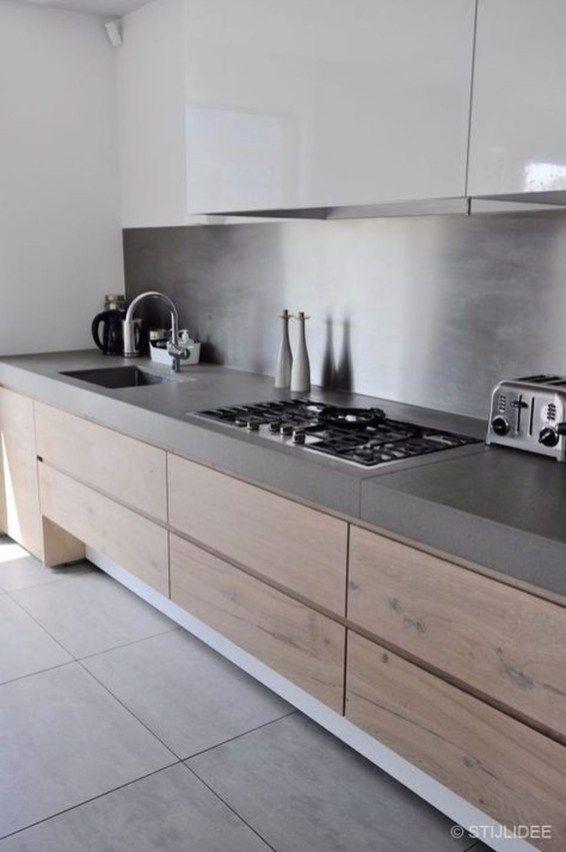 Nice Modern Kitchen Design And Decor Ideas 10