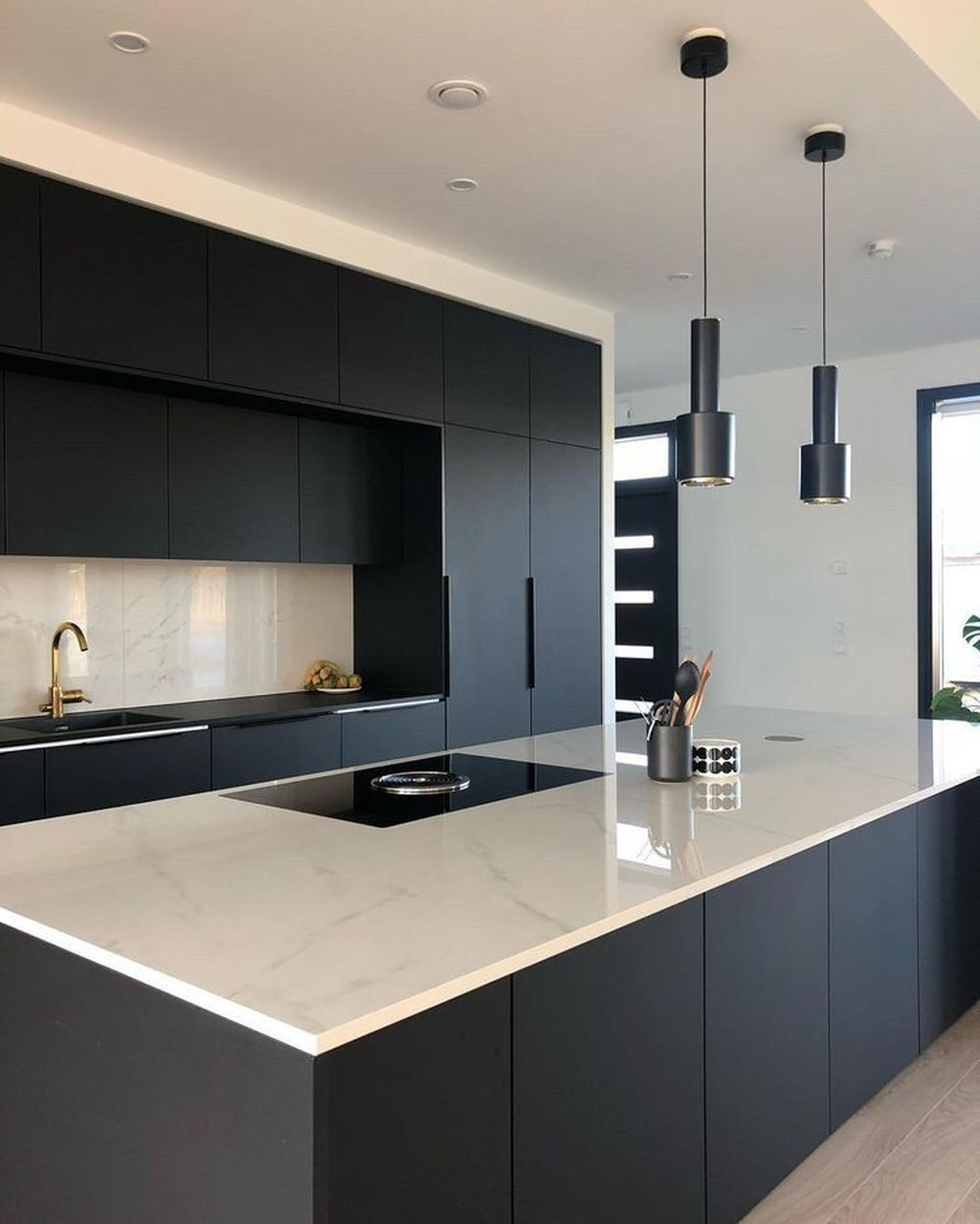 Nice Modern Kitchen Design And Decor Ideas 34