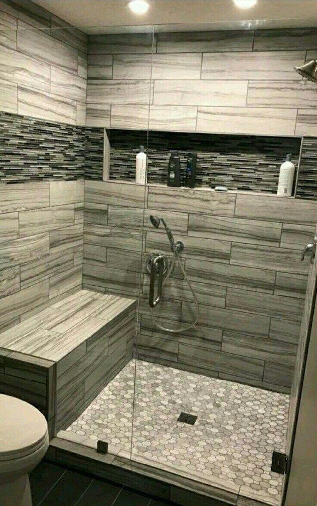Nice Tile Shower Ideas For Your Bathroom 01