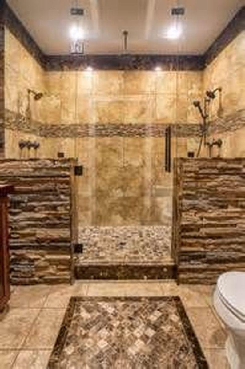 Nice Tile Shower Ideas For Your Bathroom 05