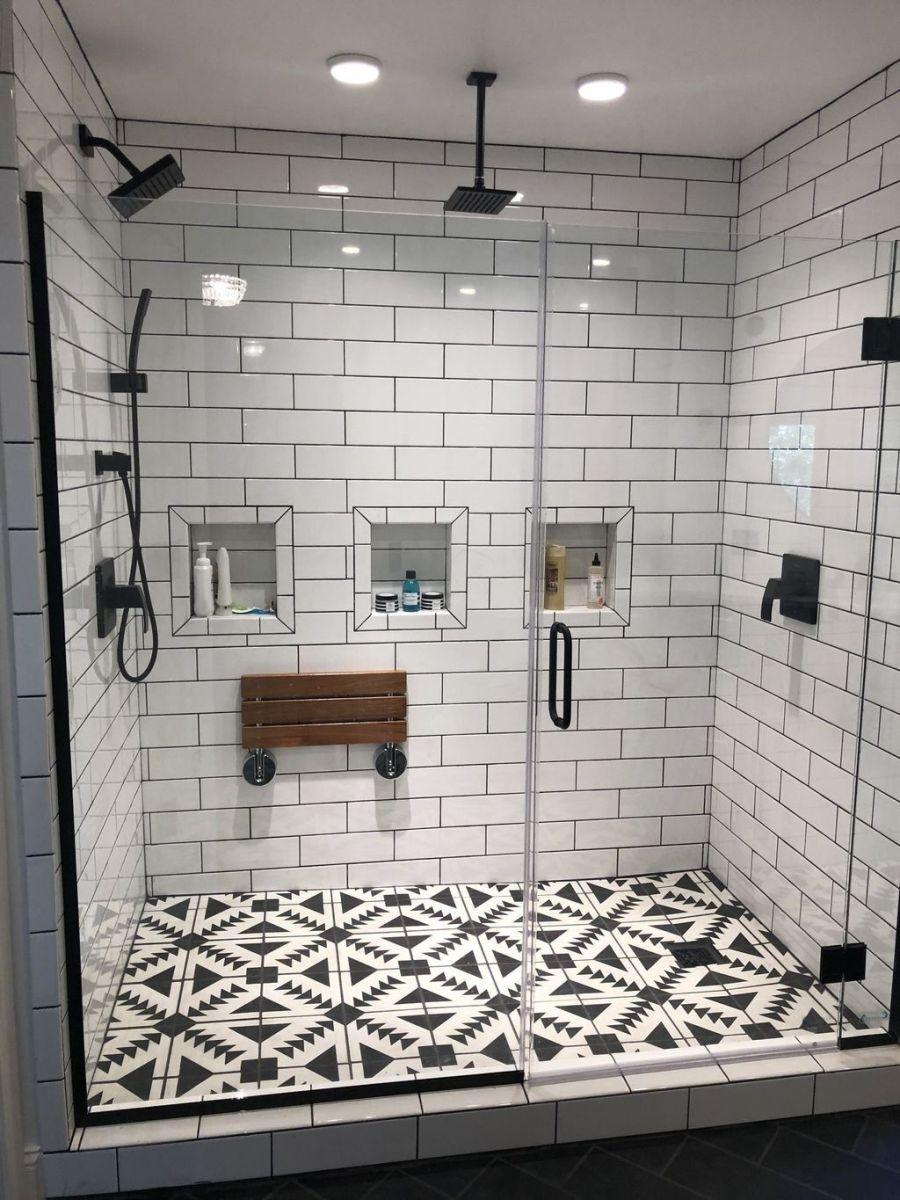 Nice Tile Shower Ideas For Your Bathroom 27