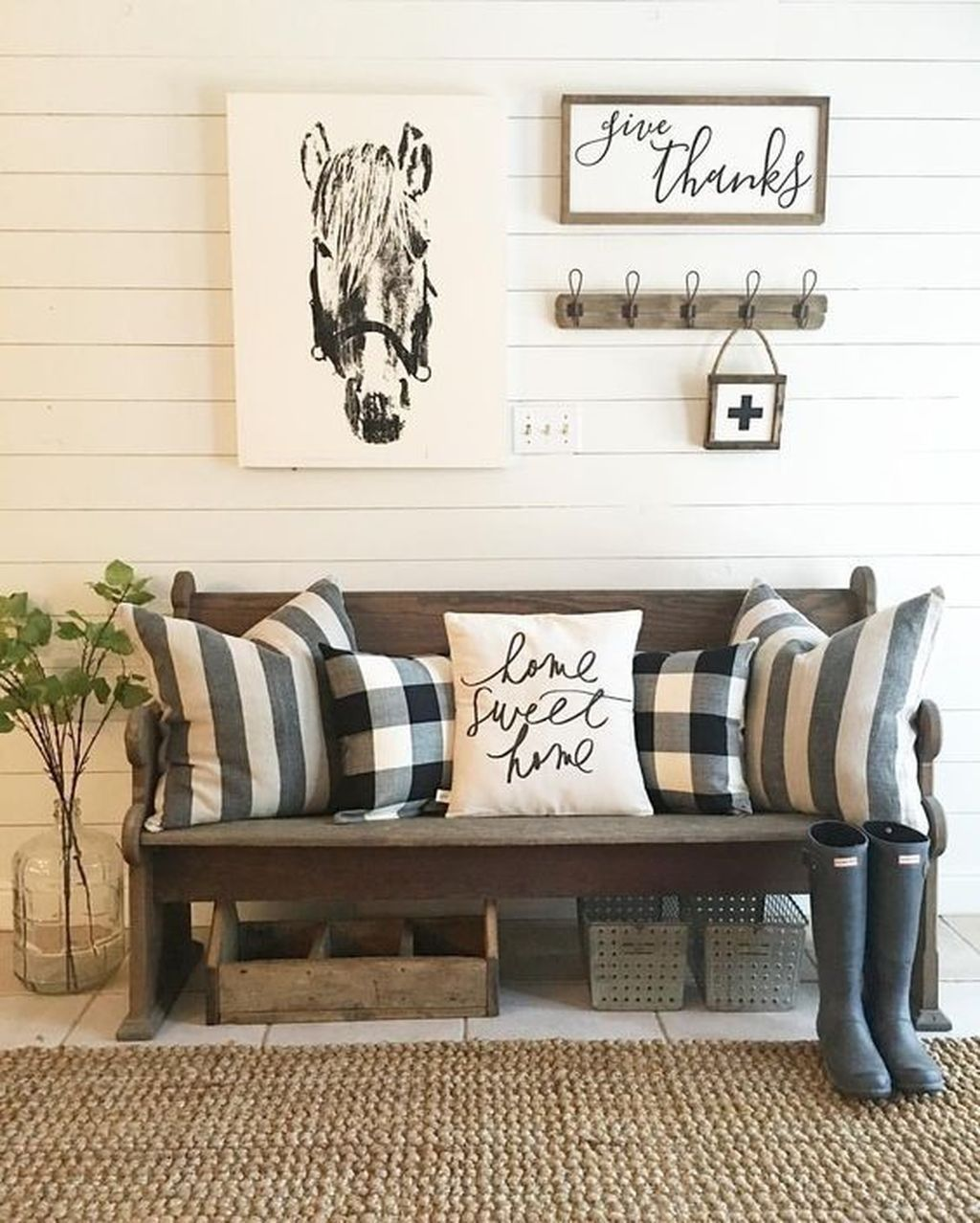 Popular Modern Farmhouse Living Room Decor Ideas 18