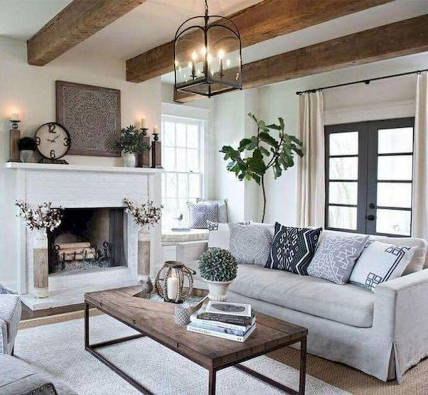 Popular Modern Farmhouse Living Room Decor Ideas 26