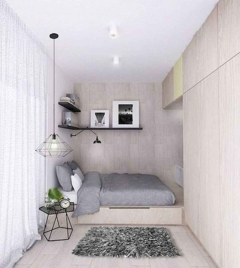 Popular Small Bedroom Decor Ideas 32