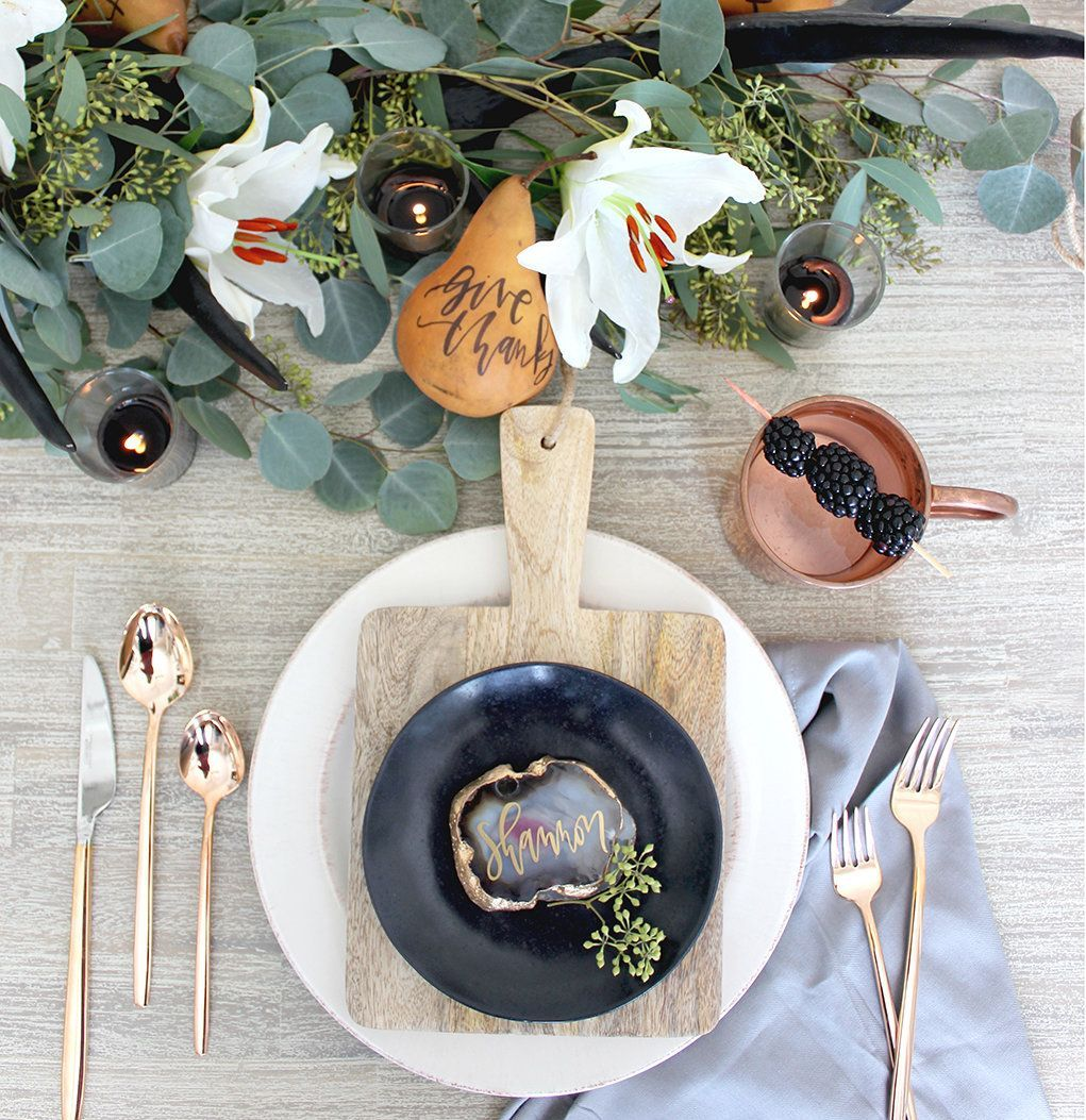 Popular Thanksgiving Table Decorating Ideas Beautiful Look 03