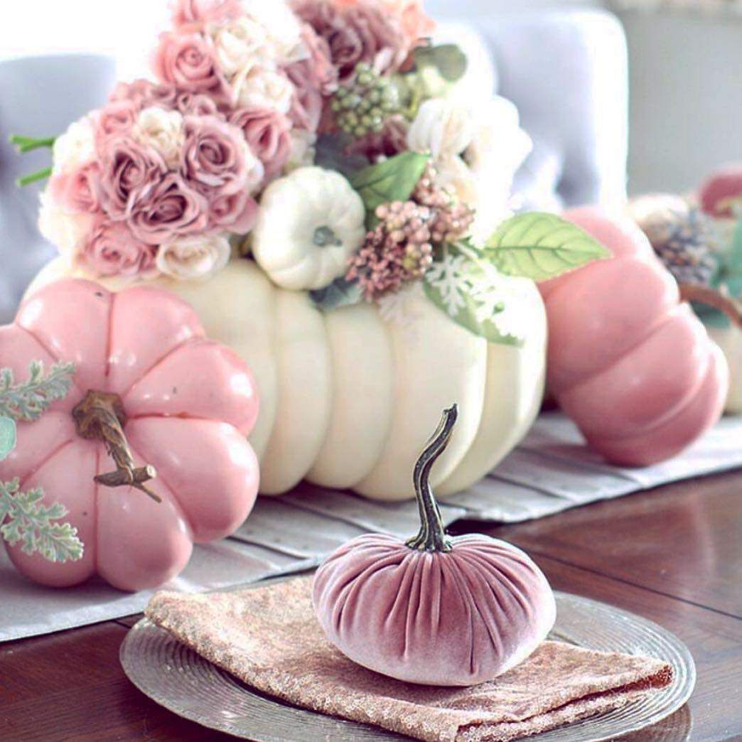 Popular Thanksgiving Table Decorating Ideas Beautiful Look 07