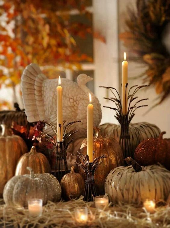 Popular Thanksgiving Table Decorating Ideas Beautiful Look 20