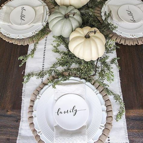 Popular Thanksgiving Table Decorating Ideas Beautiful Look 31