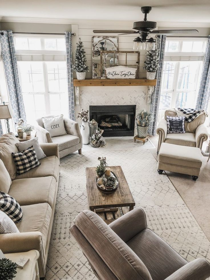 Stunning Living Room Wall Decoration Ideas 02