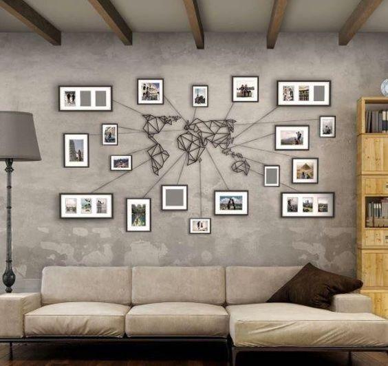 Stunning Living Room Wall Decoration Ideas 09